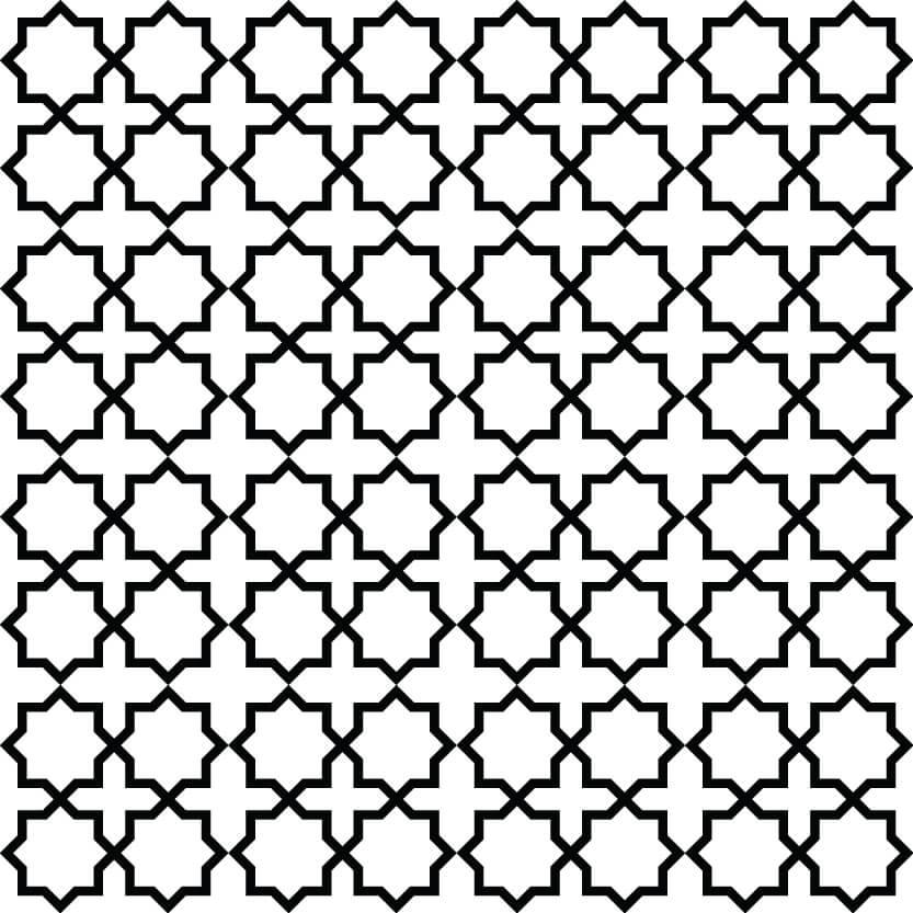 Black Floral Seamless Patterns for Designers