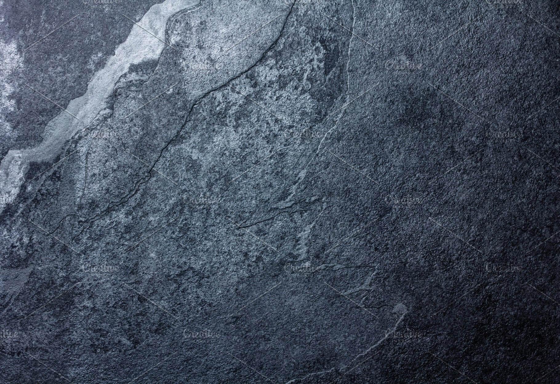 Black stone slate background texture