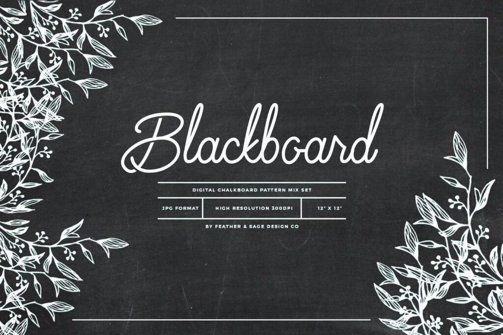 Blackboard Patterns