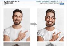 Caricature Maker - Photoshop Actions