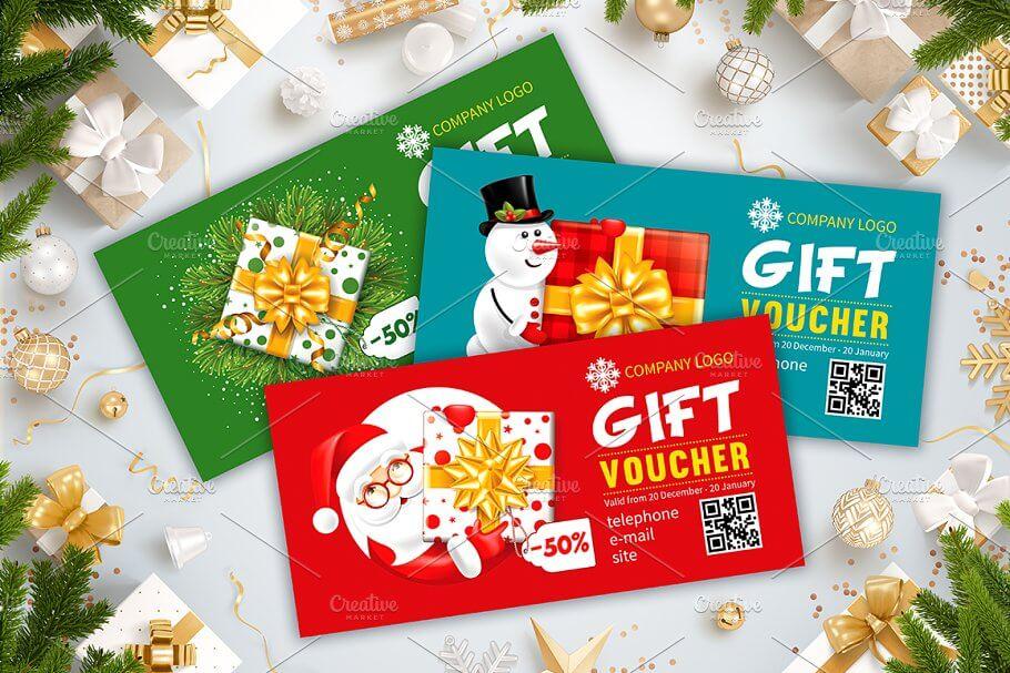 Christmas Gift Card Templates (1)