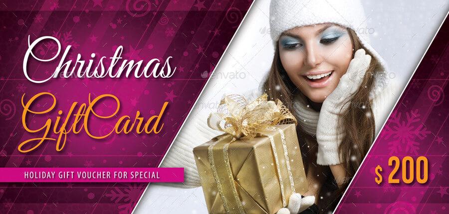 Christmas Holidays Gift Voucher V01 (1)