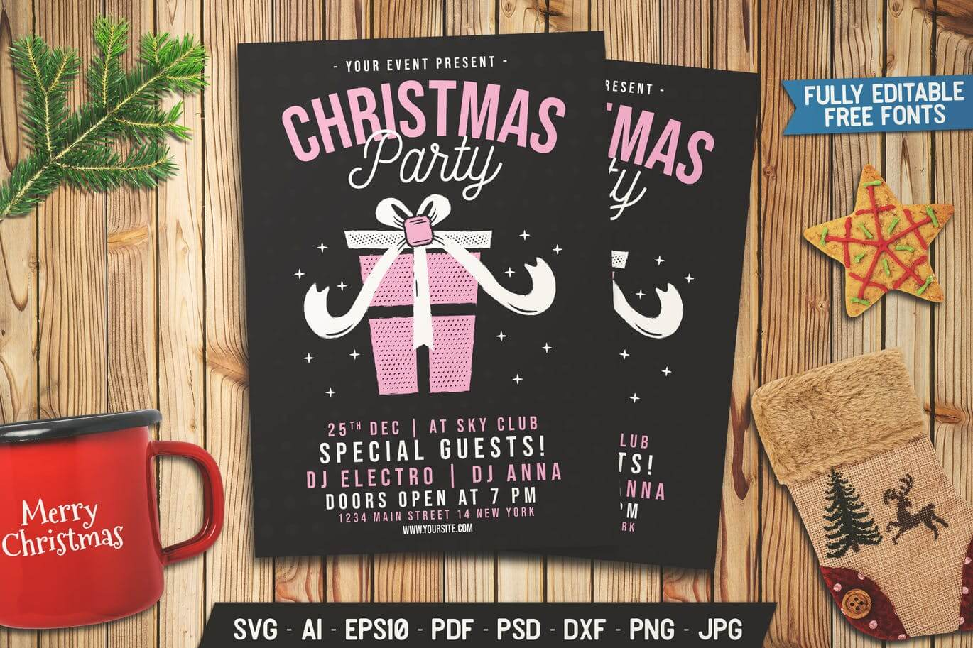 Christmas Party Gift Flyer (1)