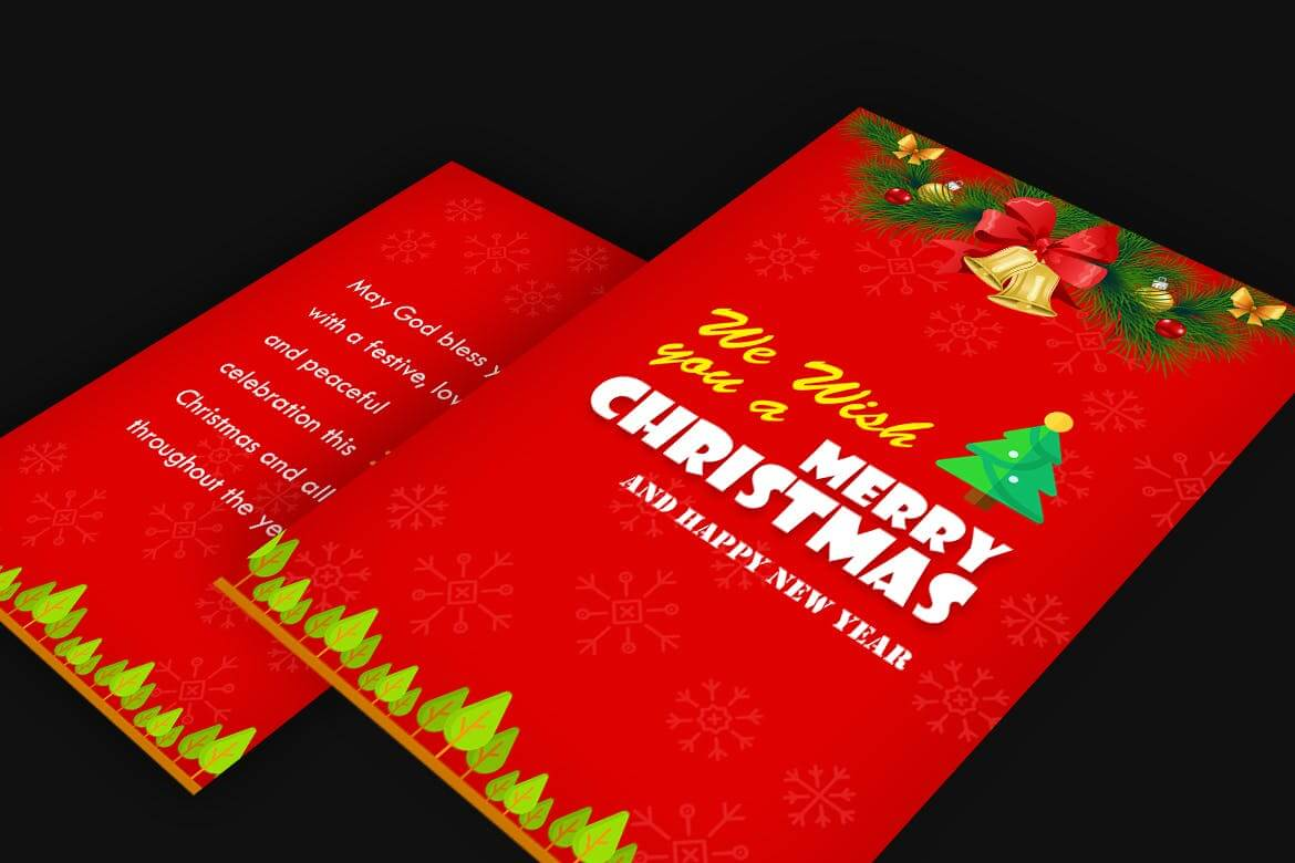 Christmas party flyer template (1)