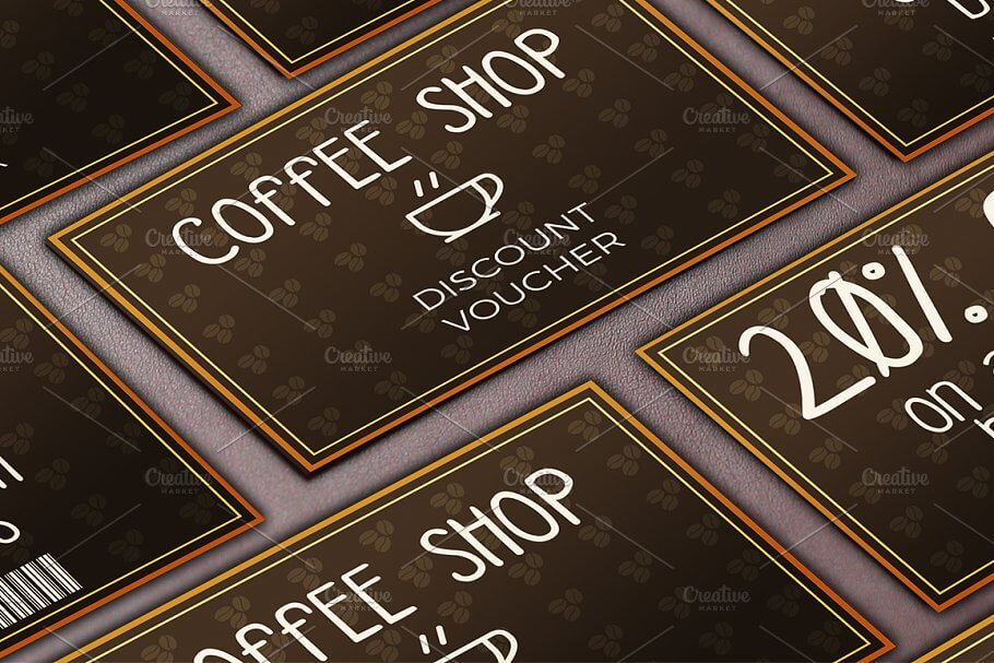 Coffee Shop Discount Voucher (1)