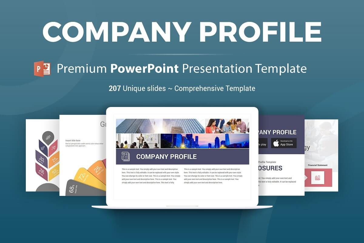 Company Profile PowerPoint Template (3)