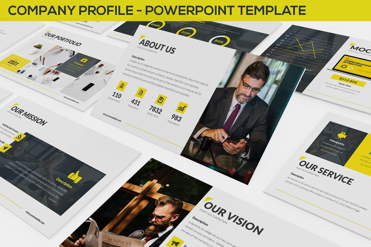 Company Profile - Powerpoint