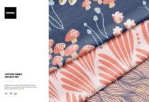 Cotton Fabric Mockup Set