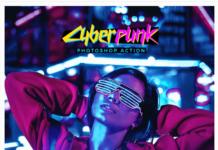 CyberPunk Photoshop Action2