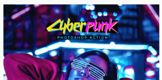 CyberPunk Photoshop Action2