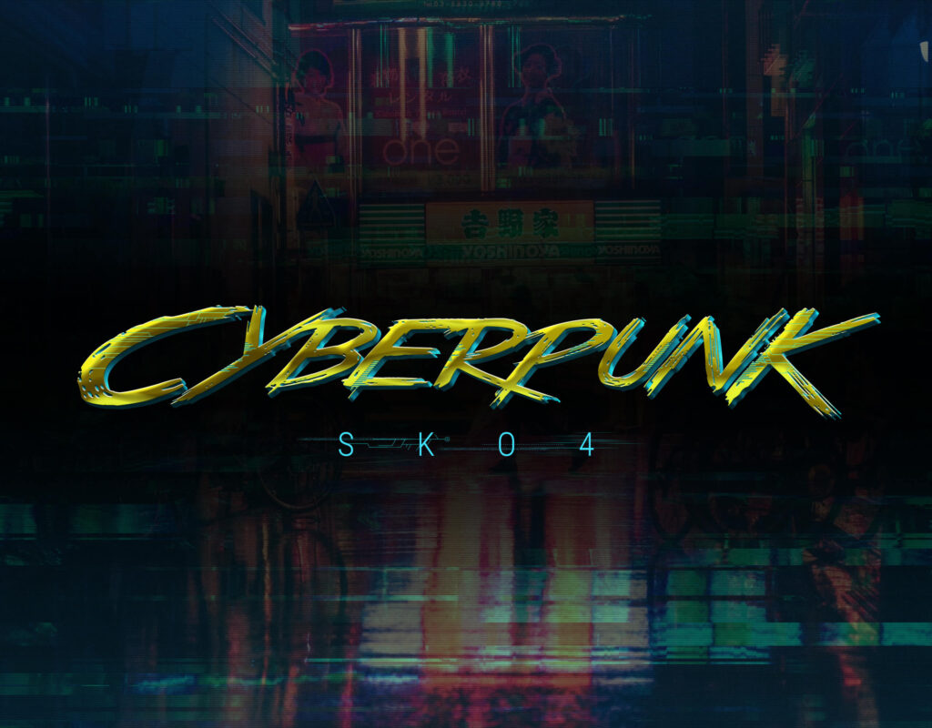 Cyberpunk - 80s Retro Text Effects