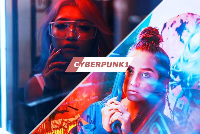 Cyberpunk Photoshop Actions