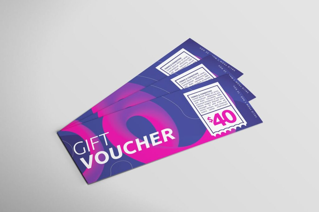 Digital Voucher Card - Voucher Design