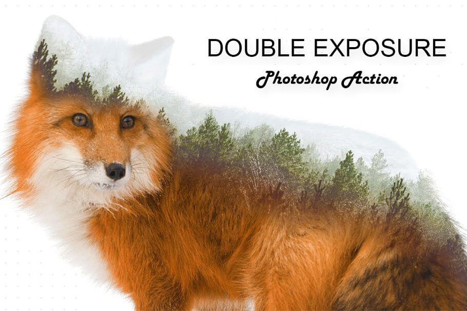 Double Exposure Photoshop Action (3)