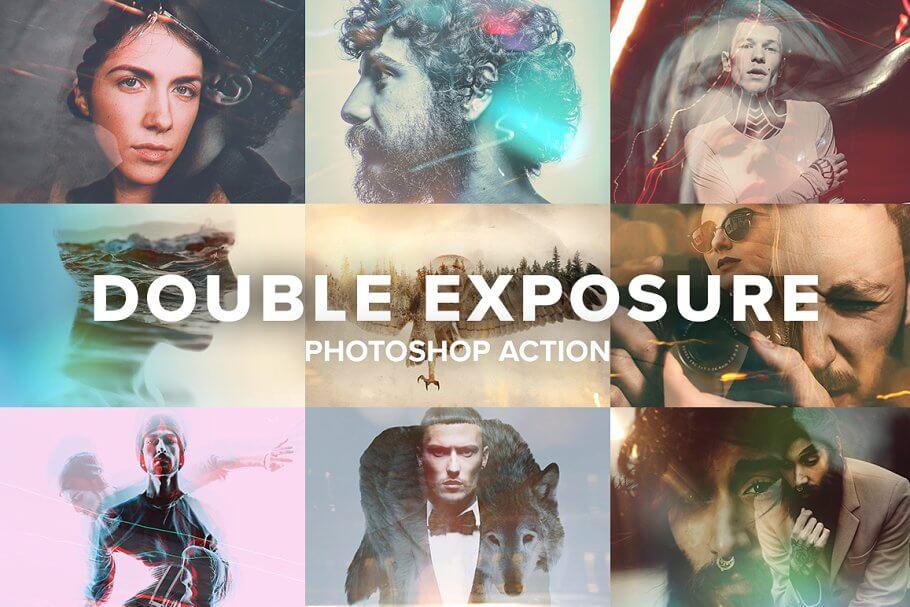 Double Exposure Photoshop Action (5)