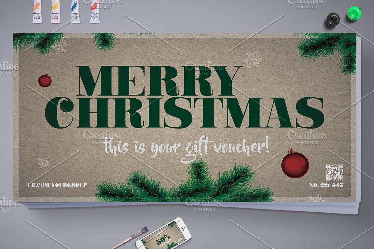 Elegant Christmas Gift Voucher (1)