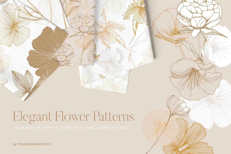 Elegant Flower Patterns