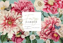 Fairy Garden Floral Patterns