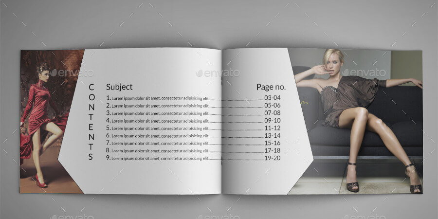 Fashion A5 Catalog Template 0001