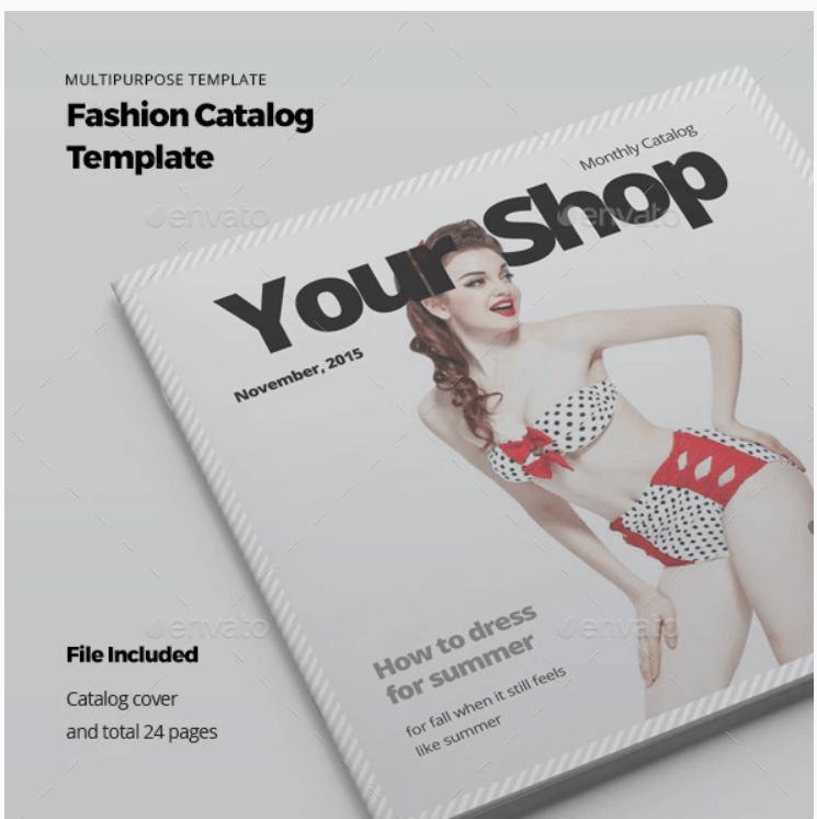 Fashion Catalog Template