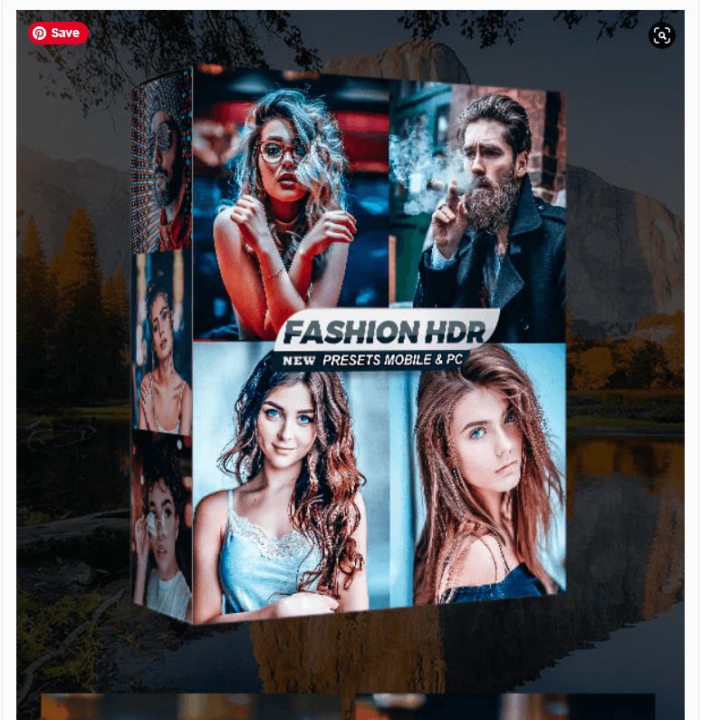 Fashion HDR Lightroom Presets