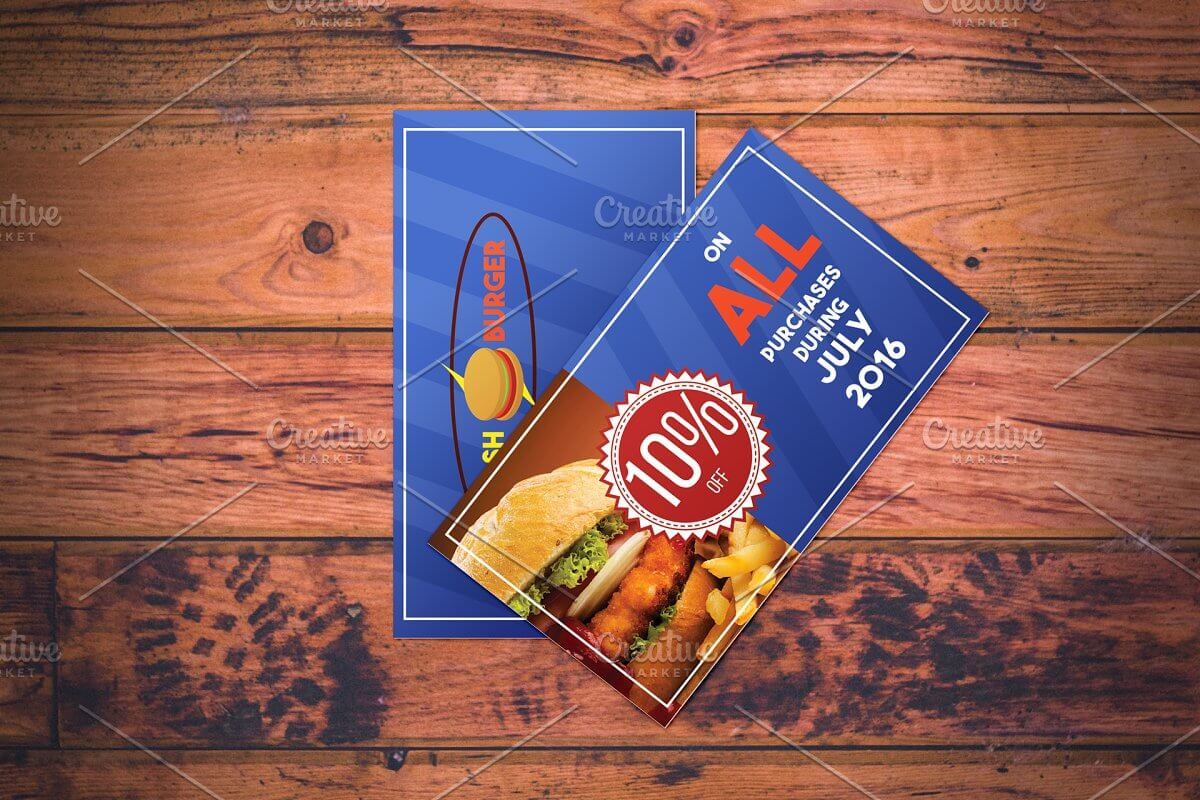 Fast Food Restaurant Coupon (1)