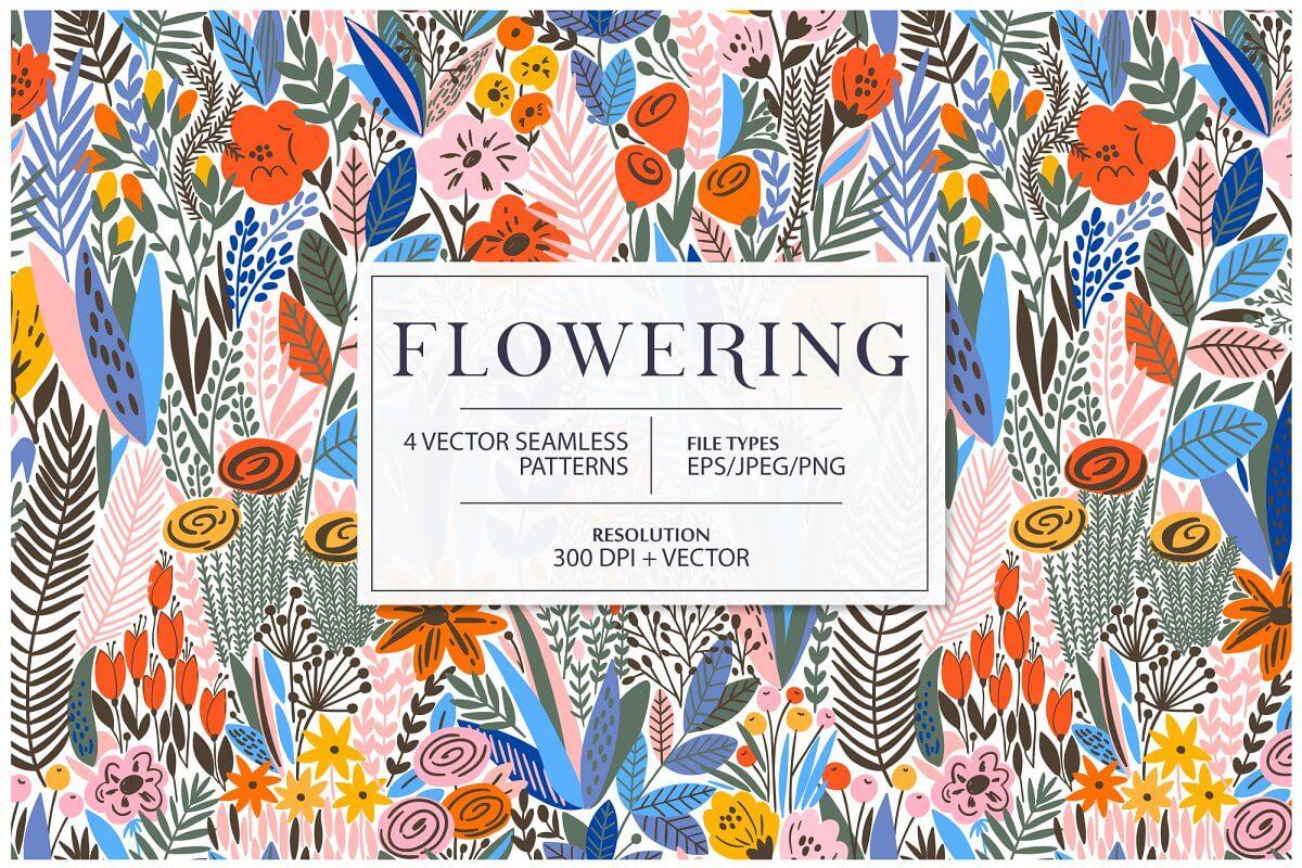 Flowering pattern