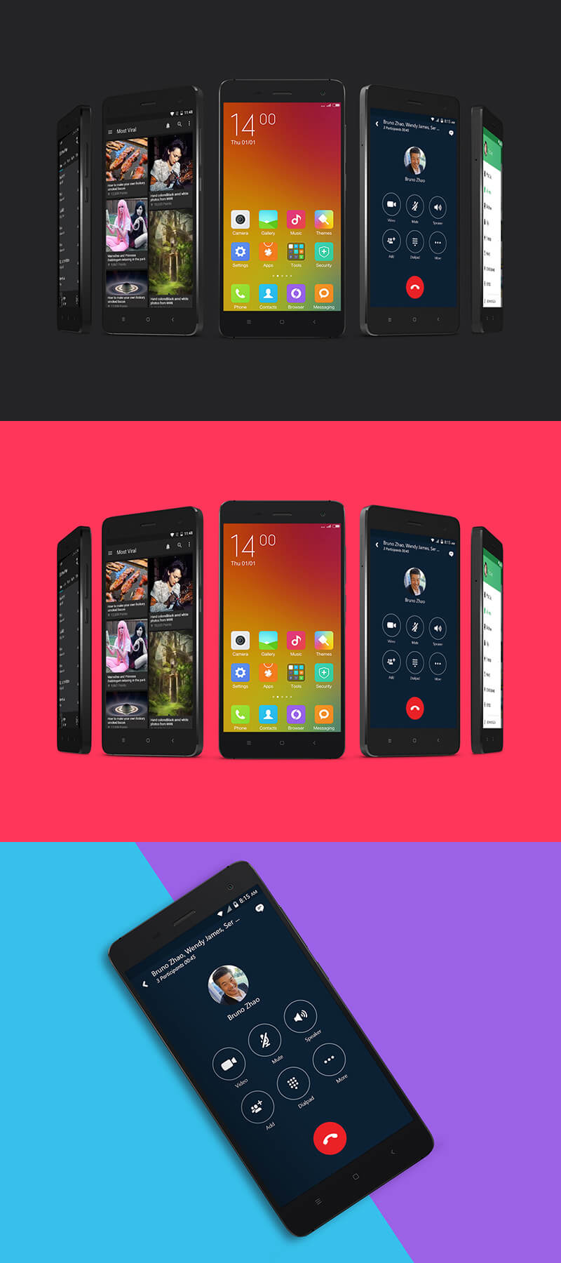 Free Android Smartphone Mockup PSD Template1