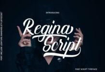 Free Antique Demo Regina Script Font