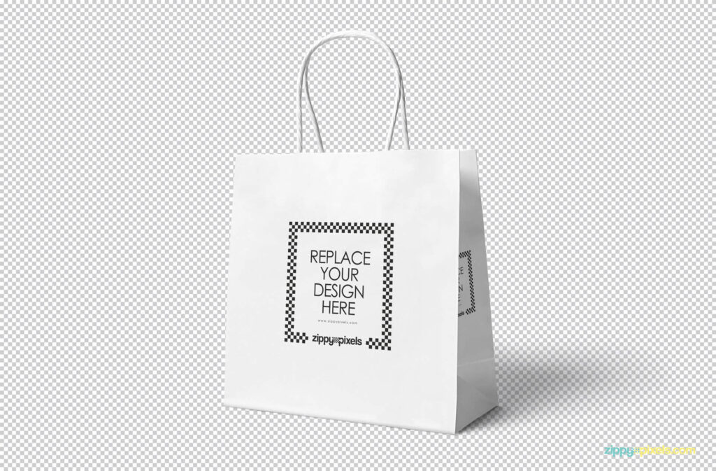 Free Attractive Gift Bag Mockup PSD Template1