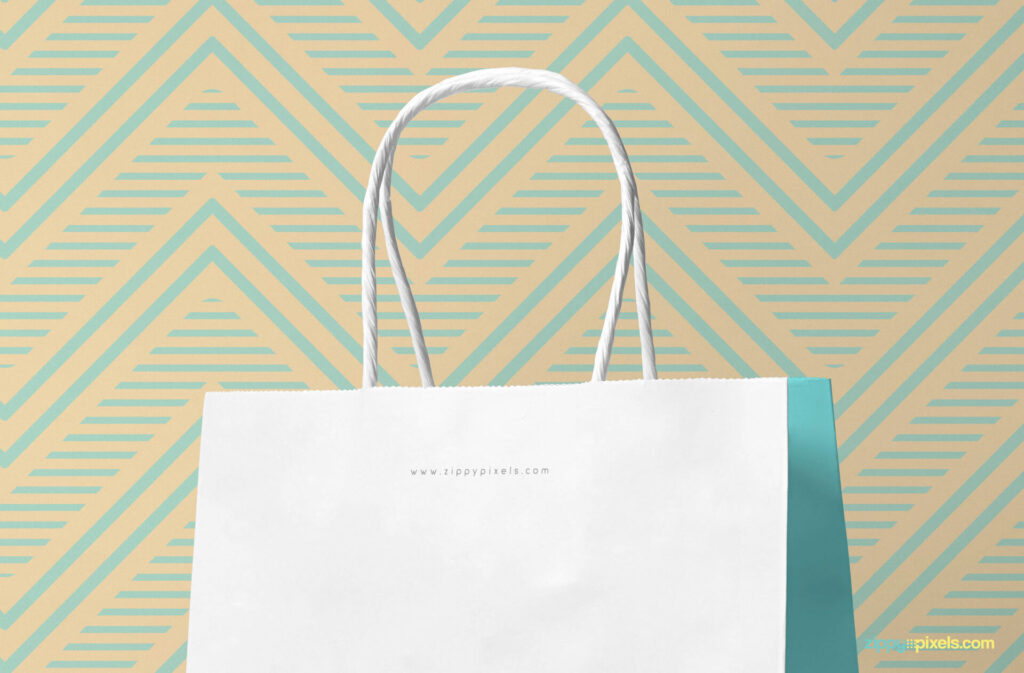 Free Attractive Gift Bag Mockup PSD Template5