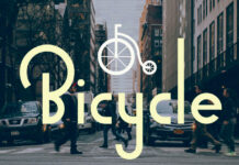 Free Baptismal Bicycle Font