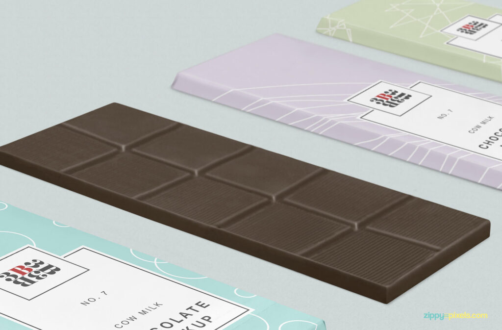 Free Cool Chocolate Bar Mockup PSD Template4