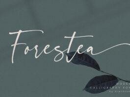 Free Demo Forestea Classy Script Font