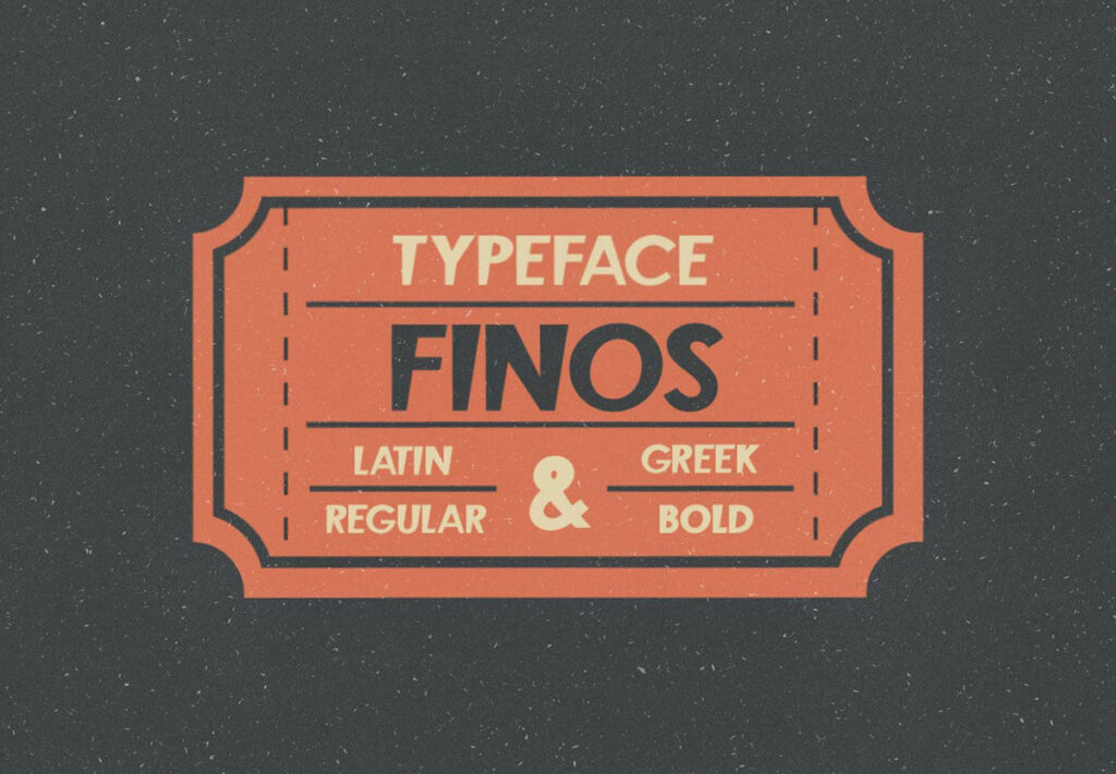 Free Displayable Finos Typeface