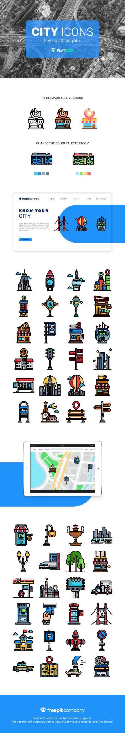 Free Editable And Transparent Vector City Icons
