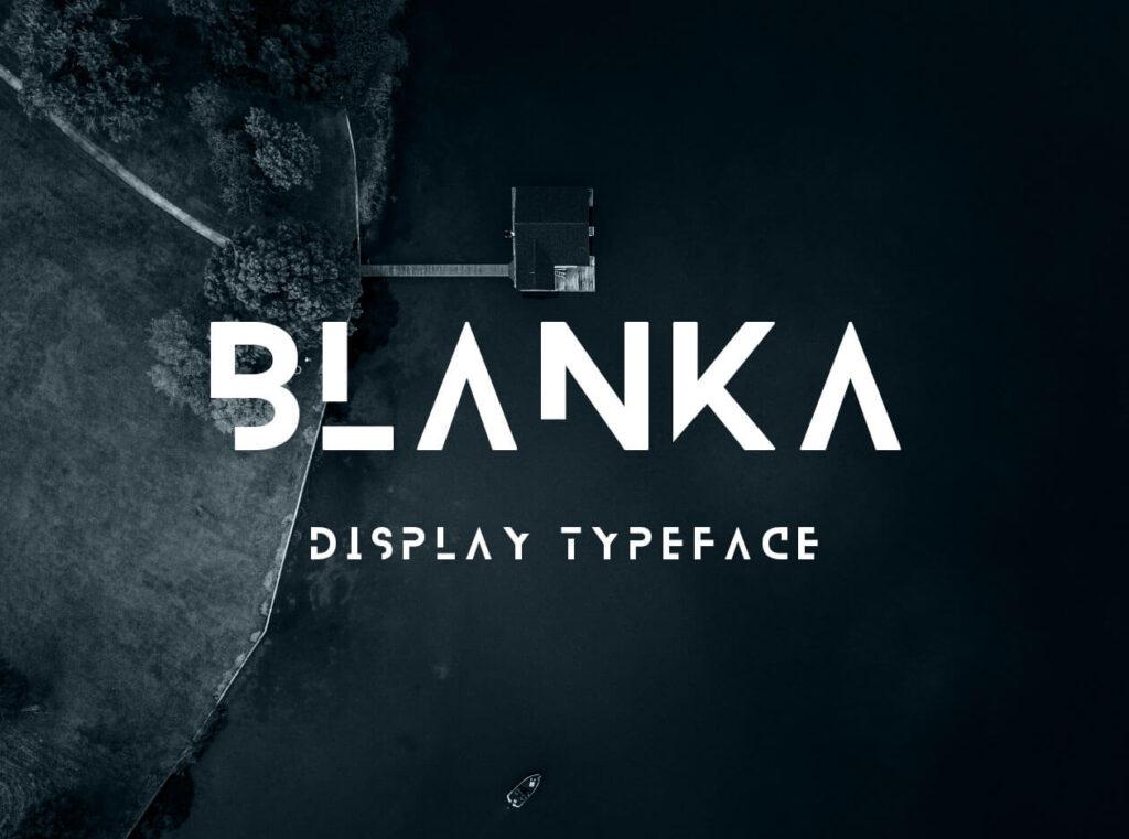 Free Fancy Blanka Typeface