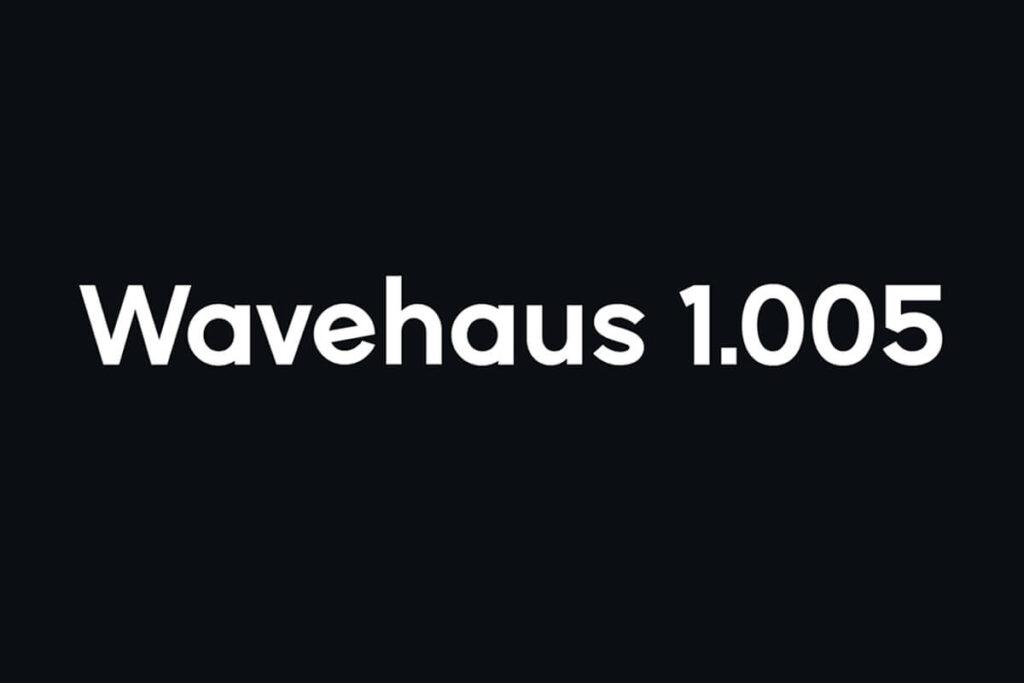 Free Geometric Wavehaus Sans Typeface