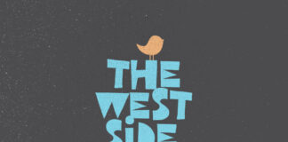Free Illustrated West Side Display Font