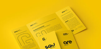 Free Ingenious Brochure Mockup Scenes PSD Template