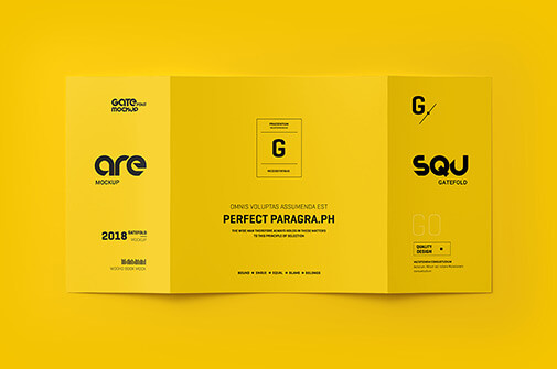 Free Ingenious Brochure Mockup Scenes PSD Template1