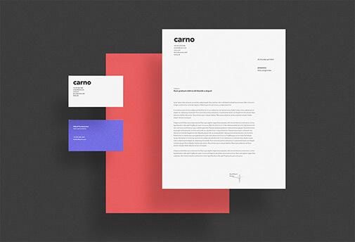 Free One Scene Carno Branding Mockup PSD Template1