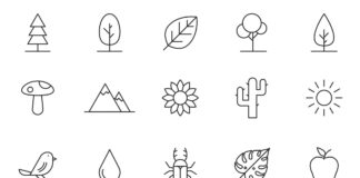 Free Pleasant 20+ Nature Vector Icons