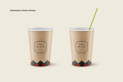 Free Ponderous Coffee Cup Mockup PSD Template1 (2)