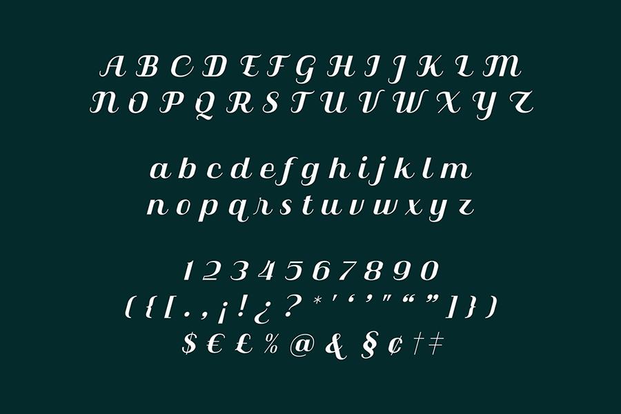 Free Qilla Serif Font Demo6