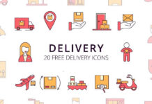 Free Safe Delivery Vector Icon Set