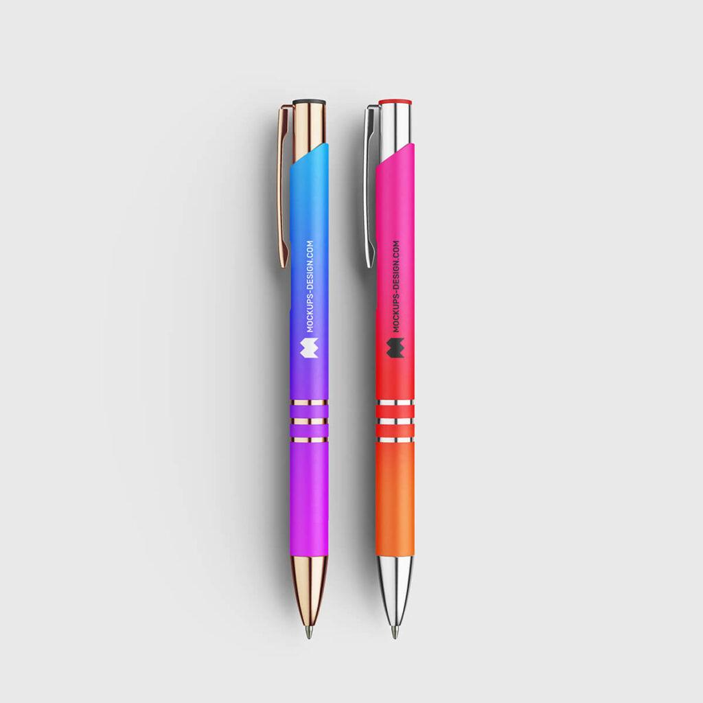 Free Sober Pen Mockup PSD Template1