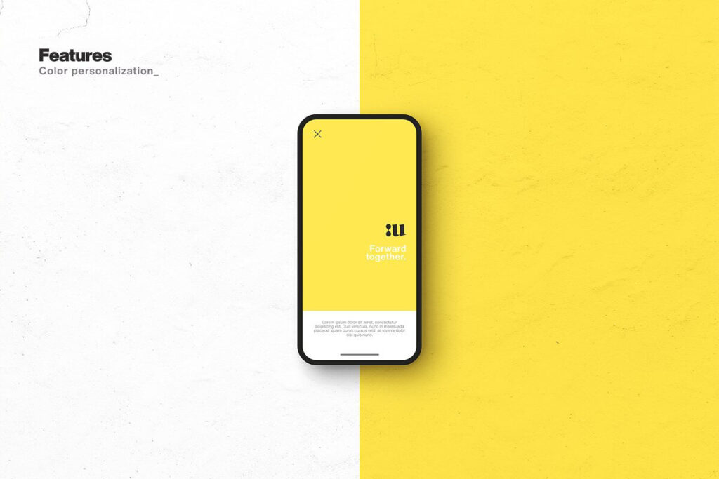 Free Synthesis Smartphone Mockup PSD Template1