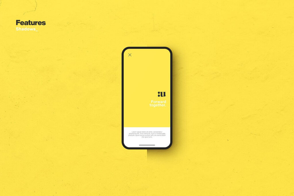 Free Synthesis Smartphone Mockup PSD Template2
