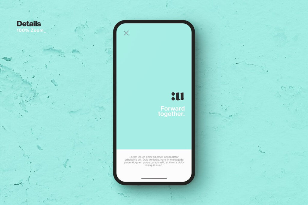 Free Synthesis Smartphone Mockup PSD Template4